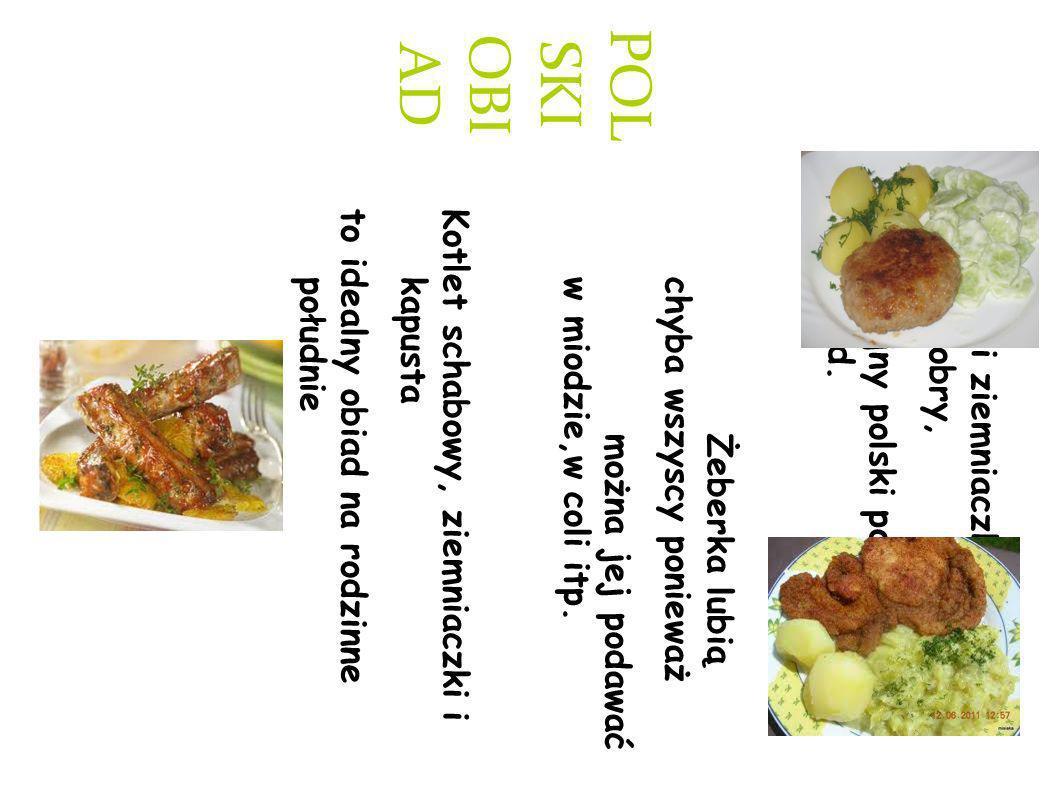 POL SKI OBI AD Mielony i ziemniaczki z mizerią to dobry, tradycyjny polski pomysł na obiad.