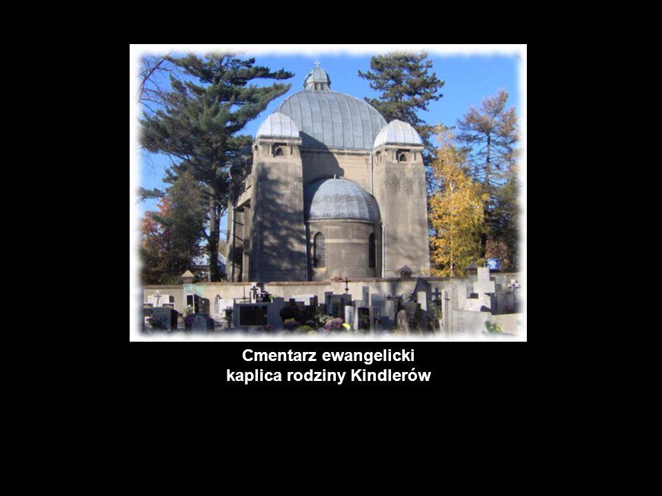 Cmentarz ewangelicki kaplica rodziny Kindlerów