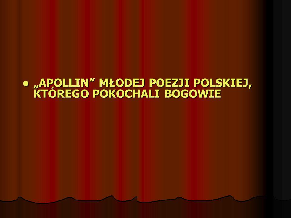 Poeta, eseista, redaktor.Urodził się w Krakowie w 1977 r.