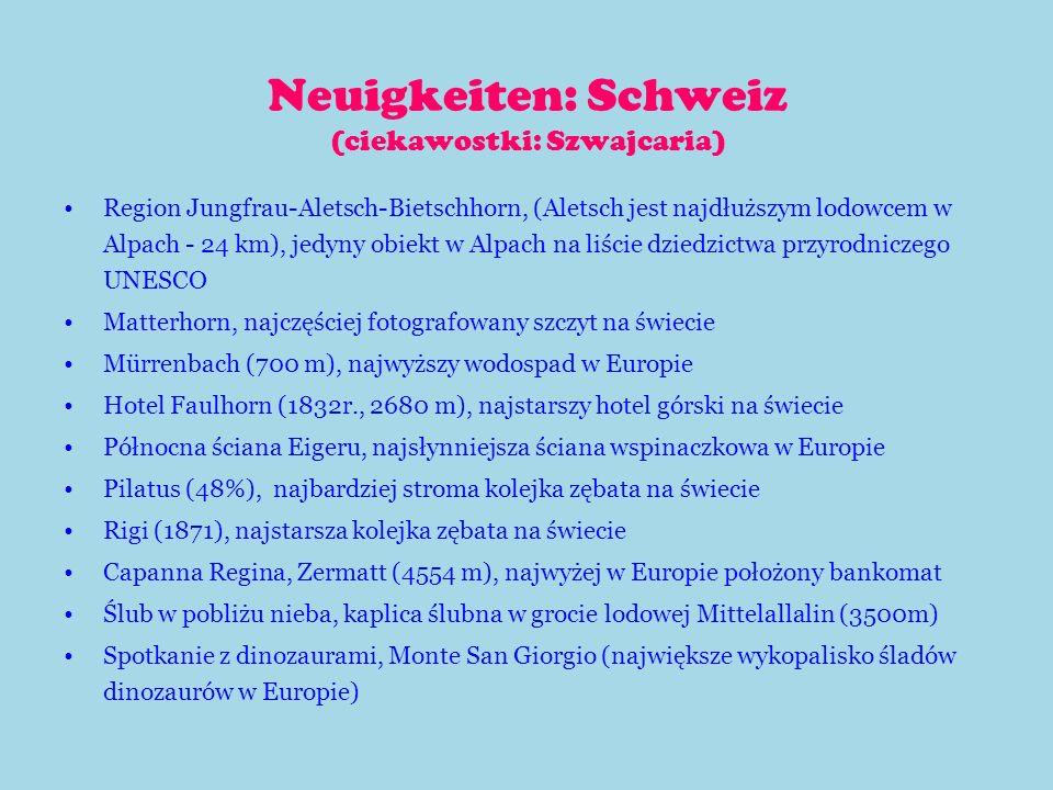 Deutschland Das Land (Kraj) Die Fahne (Flaga) Die Hauptstadt (Stolica) Deutschland (Niemcy) Berlin (Berlin) Die Nationalhymne (Hymn) (Hymn)