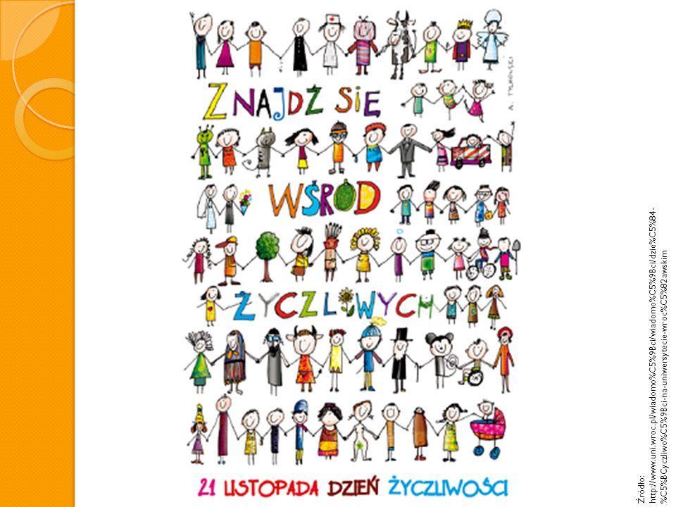 Źródło: http://media2.pl/reklama-pr/43297-Dzien-Zyczliwosci-we-Wroclawiu.html Autorem grafiki na Dzień Życzliwości jest Andrzej Tylkowski.