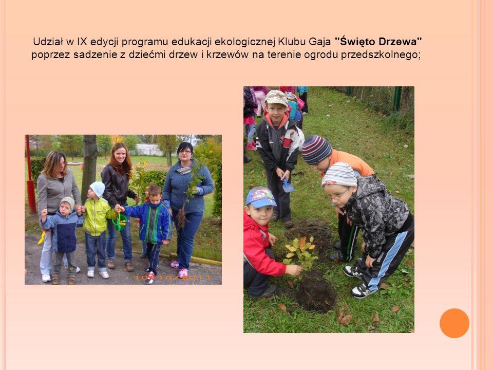 Udział w IX edycji programu edukacji ekologicznej Klubu Gaja