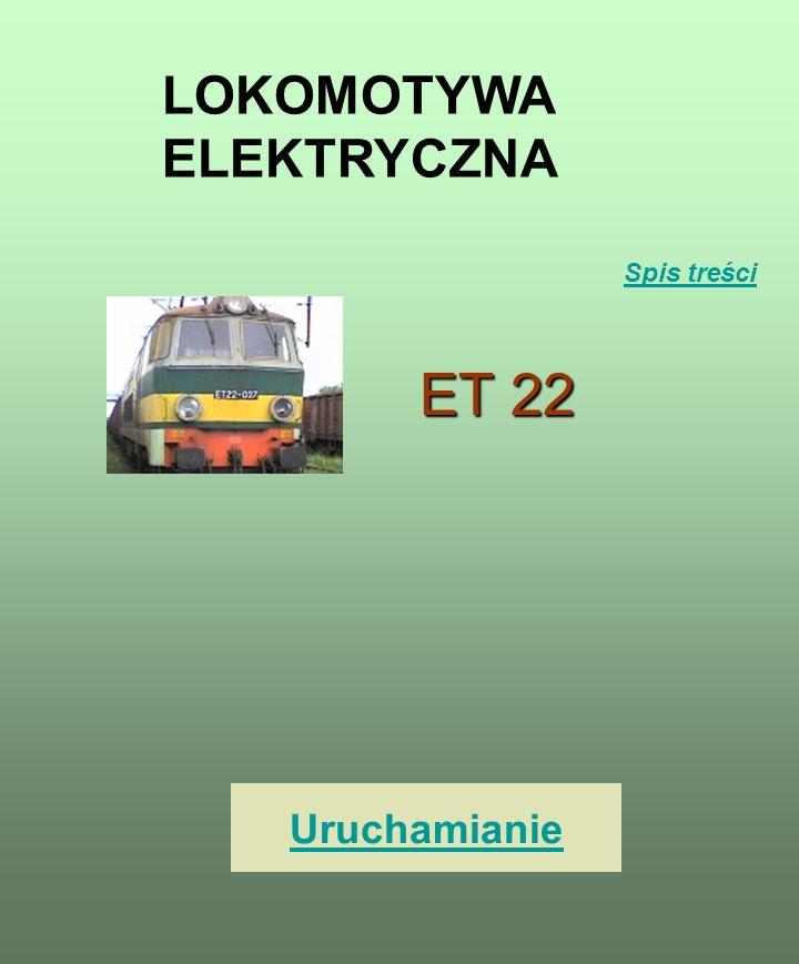 1.Lokomotywa elektryczna 2. Spis treści 3. Uruchamianie 4.