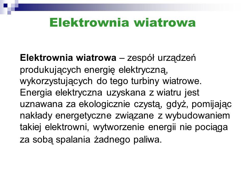 Elektrownie wiatrowe na lądzie i wodzie