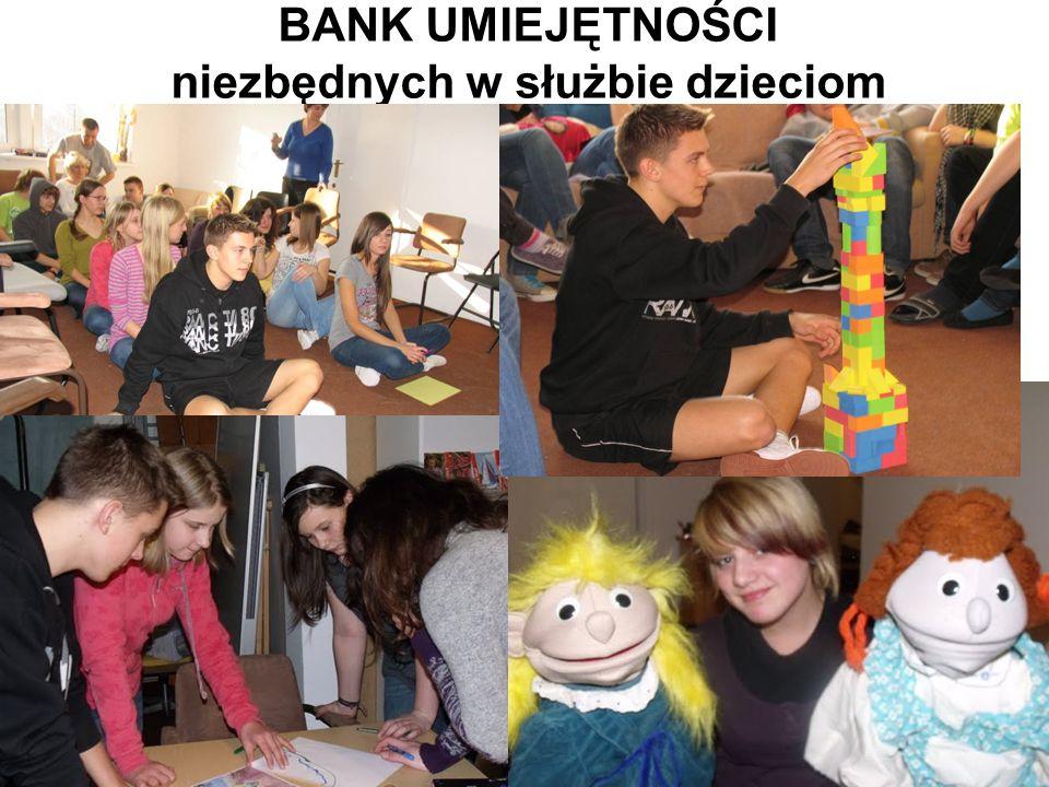 BANK UMIEJĘTNOŚCI niezbędnych w służbie dzieciom
