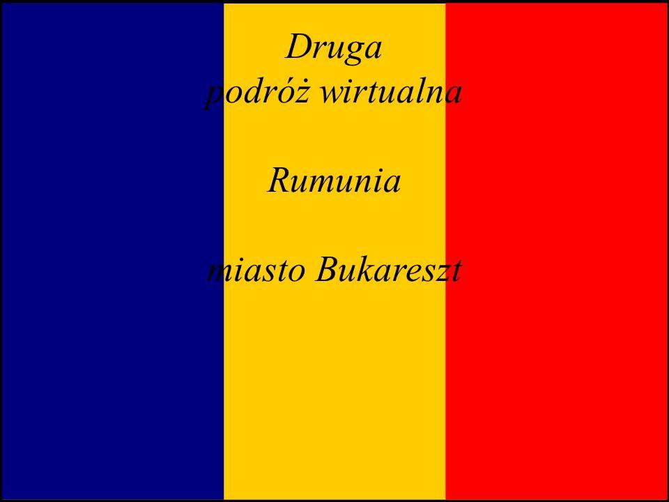 Druga podróż wirtualna Rumunia miasto Bukareszt