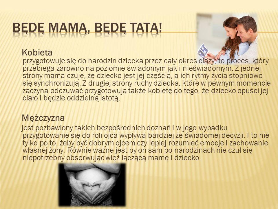 Kobieta przygotowuje się do narodzin dziecka przez cały okres ciąży; to proces, który przebiega zarówno na poziomie świadomym jak i nieświadomym. Z je
