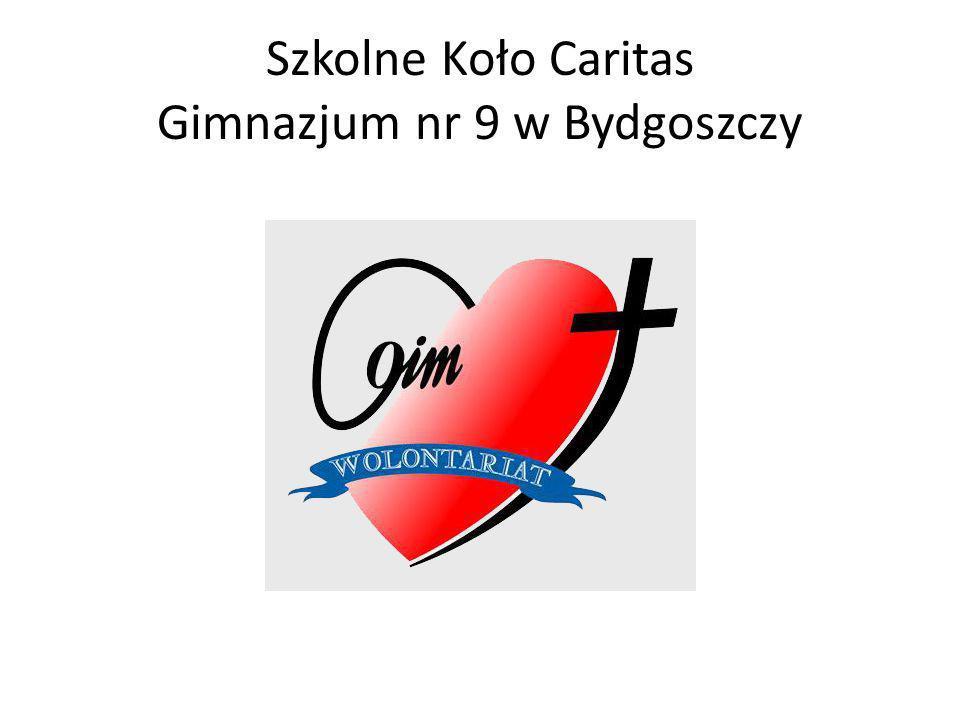 Szkolne Koło Caritas Gimnazjum nr 9 w Bydgoszczy