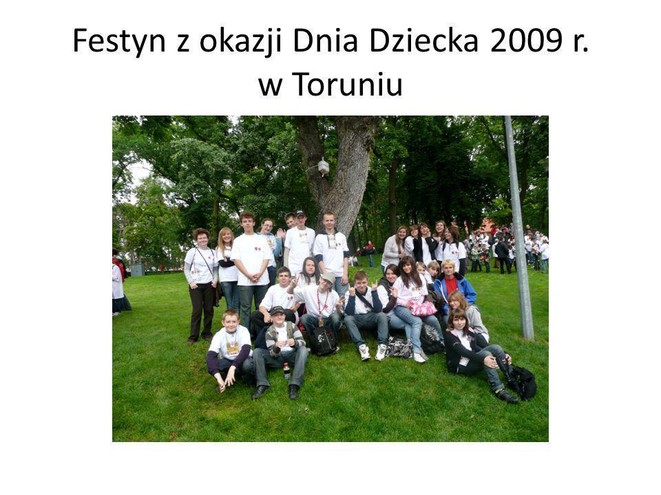 Festyn z okazji Dnia Dziecka 2009 r. w Toruniu