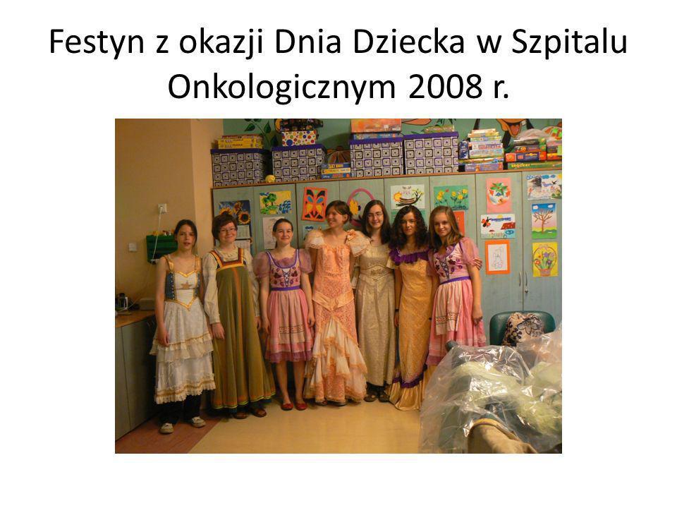 Festyn z okazji Dnia Dziecka w Szpitalu Onkologicznym 2008 r.