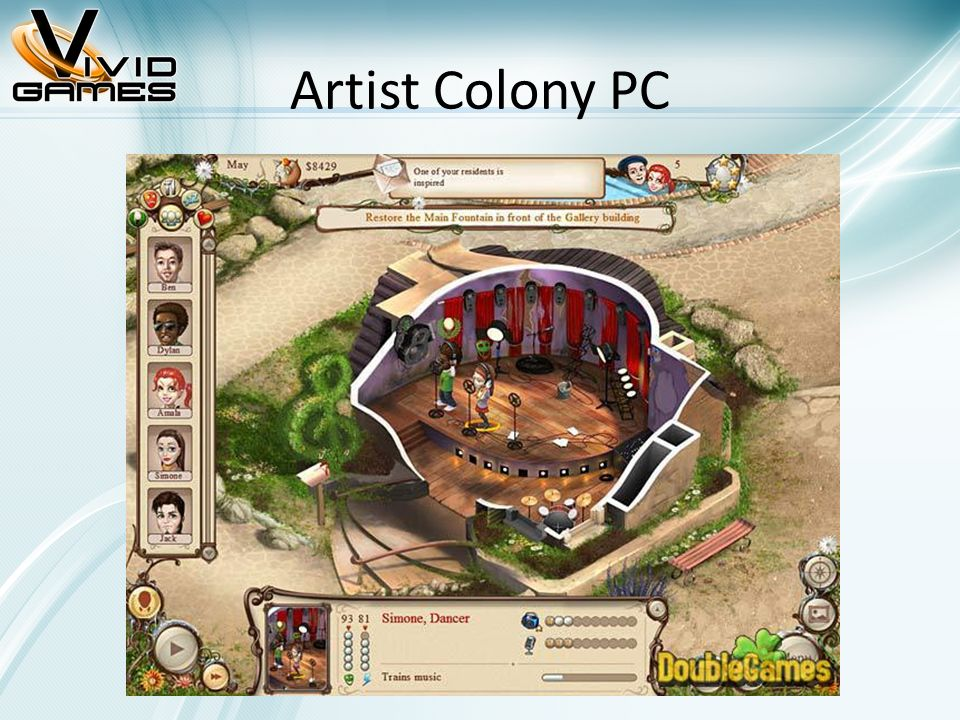 Artist Colony PC