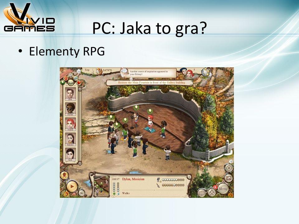 PC: Jaka to gra? Elementy RPG