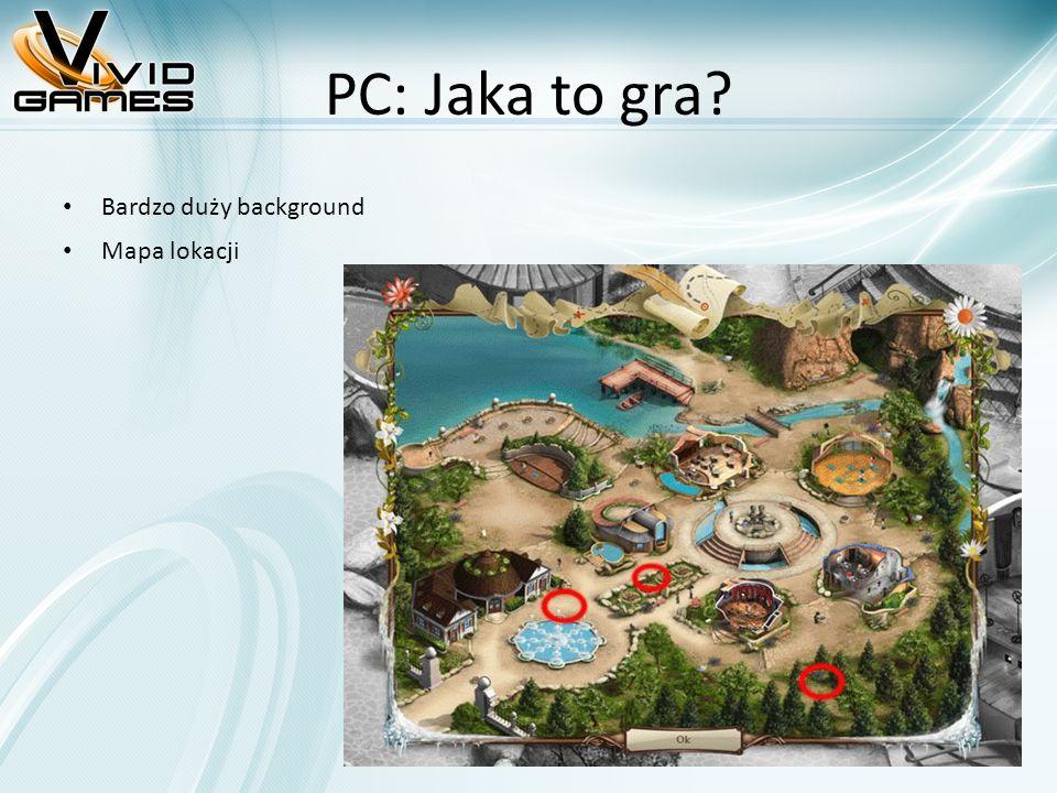 PC: Jaka to gra Bardzo duży background Mapa lokacji