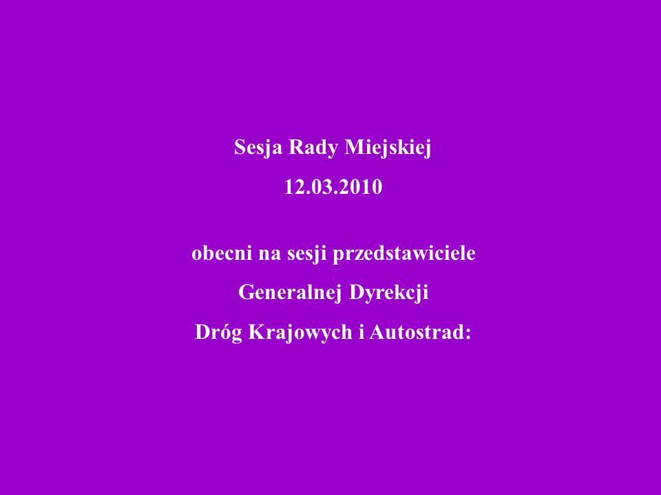 prace nad obwodnicą i remontem drogi głównej w Krośnie Odrz.