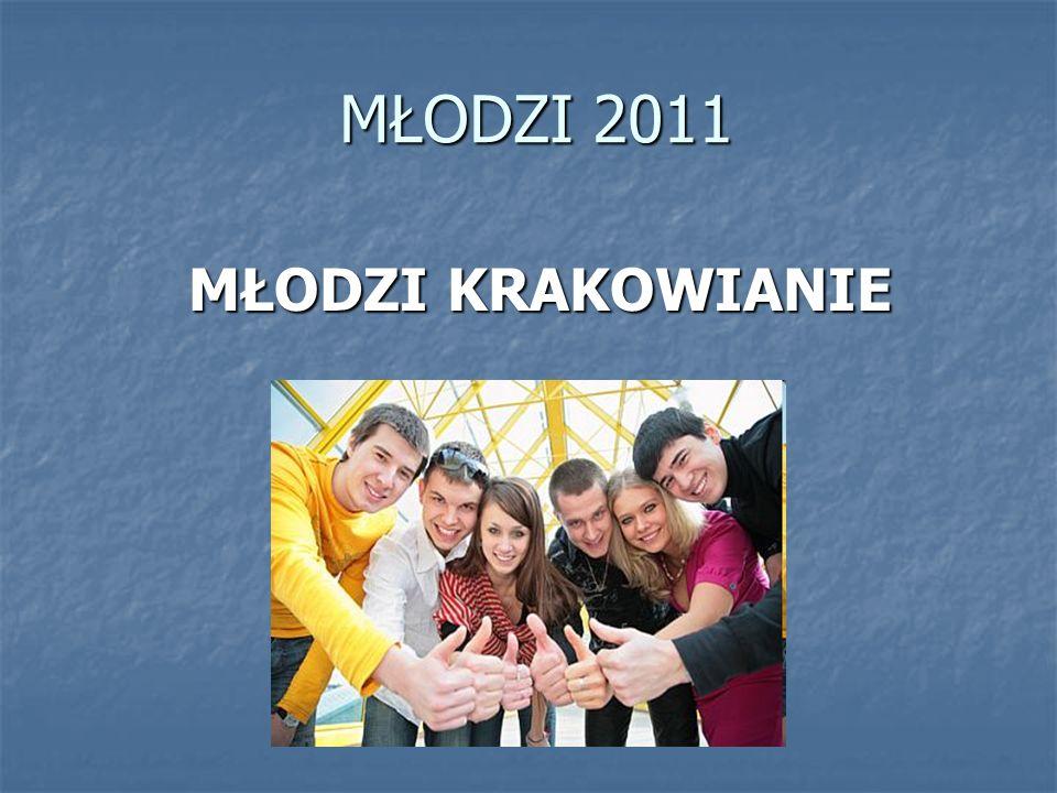 MŁODZI 2011 MŁODZI KRAKOWIANIE