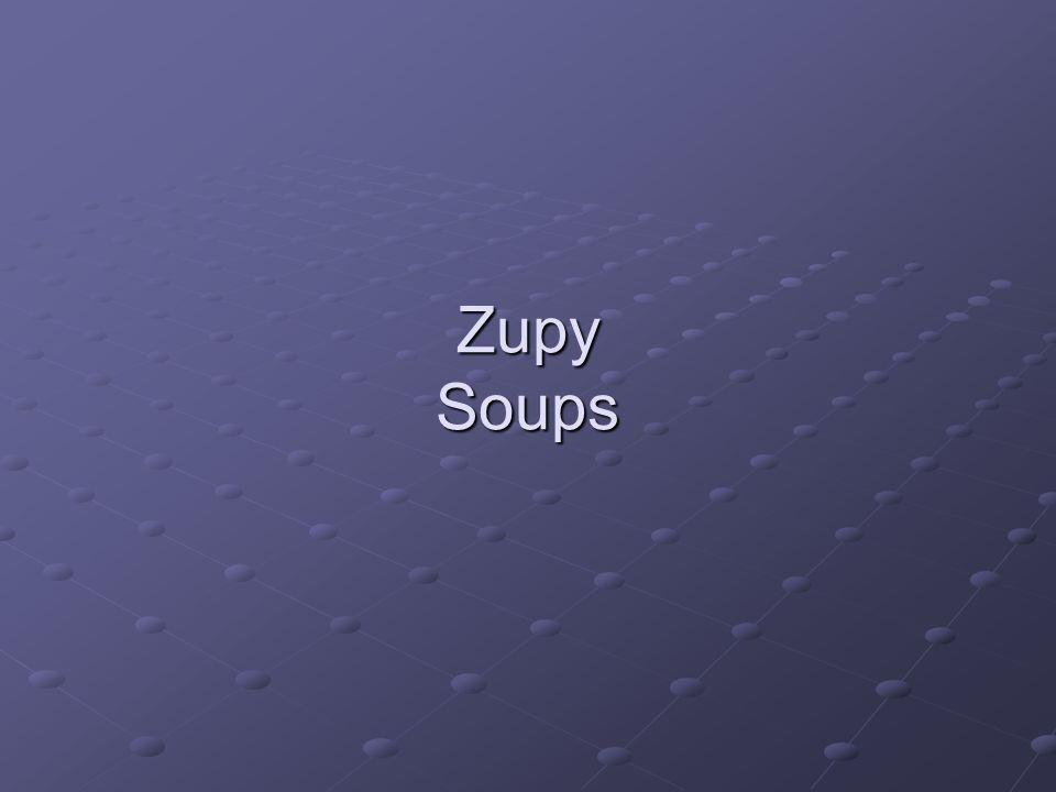 Zupy Soups