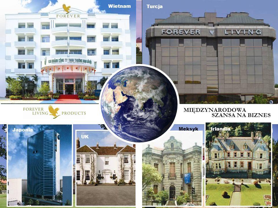 International Brazylia Rumunia Paragwaj Skandynawia WietnamTurcja Japonia UK Meksyk Irlandia MIĘDZYNARODOWA SZANSA NA BIZNES