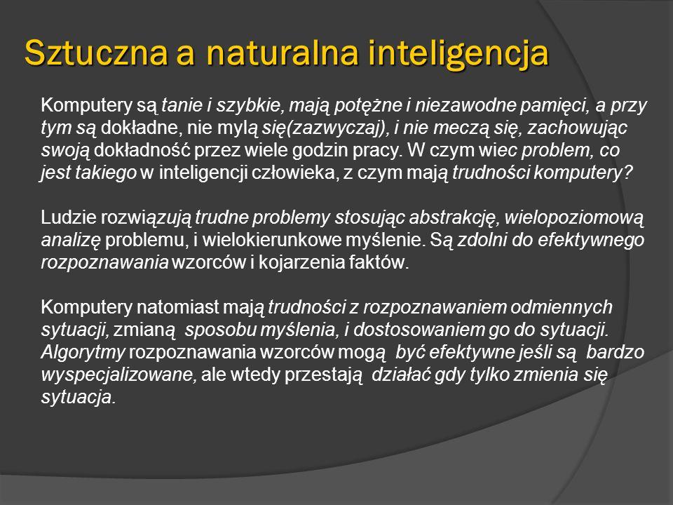 Zwolennicy i przeciwnicy SI Sztuczna inteligencja ma swoich zwolenników i oponentów.