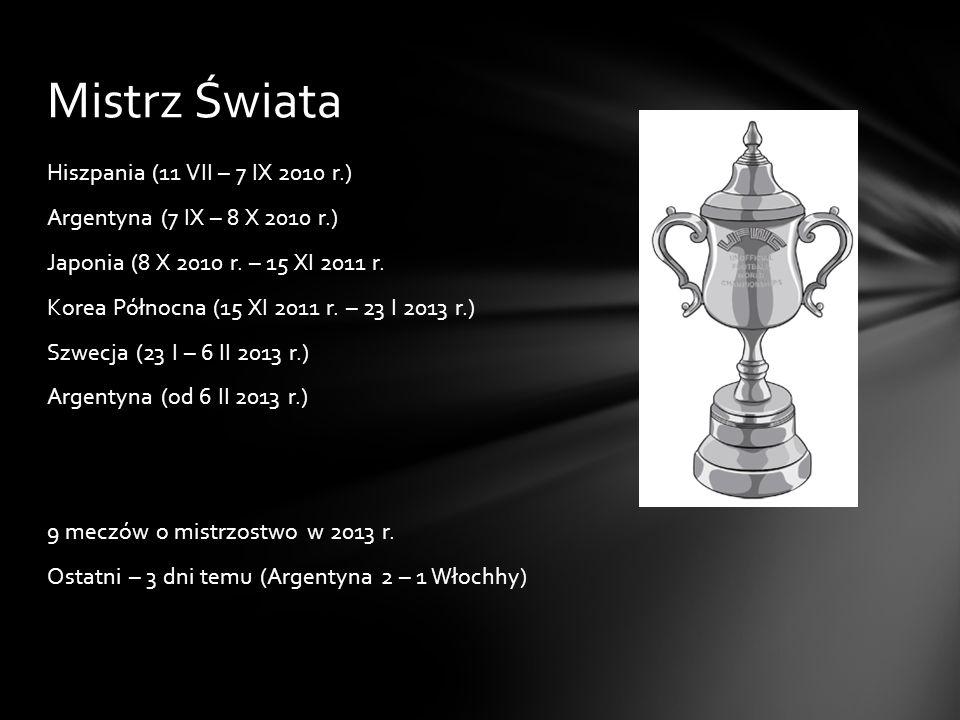 Polska mistrzem świata jest (tzn.była). 22 VI – 8 VII 1982 r.