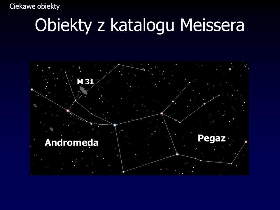 Obiekty z katalogu Meissera Pegaz Andromeda M 31