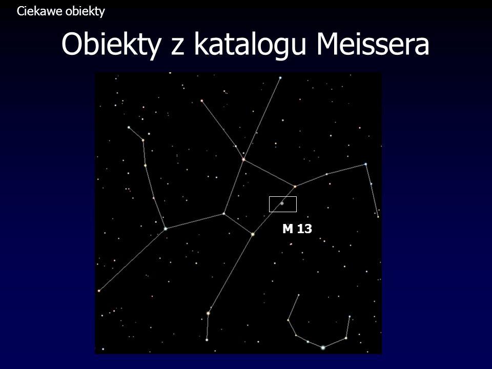 Obiekty z katalogu Meissera M 13