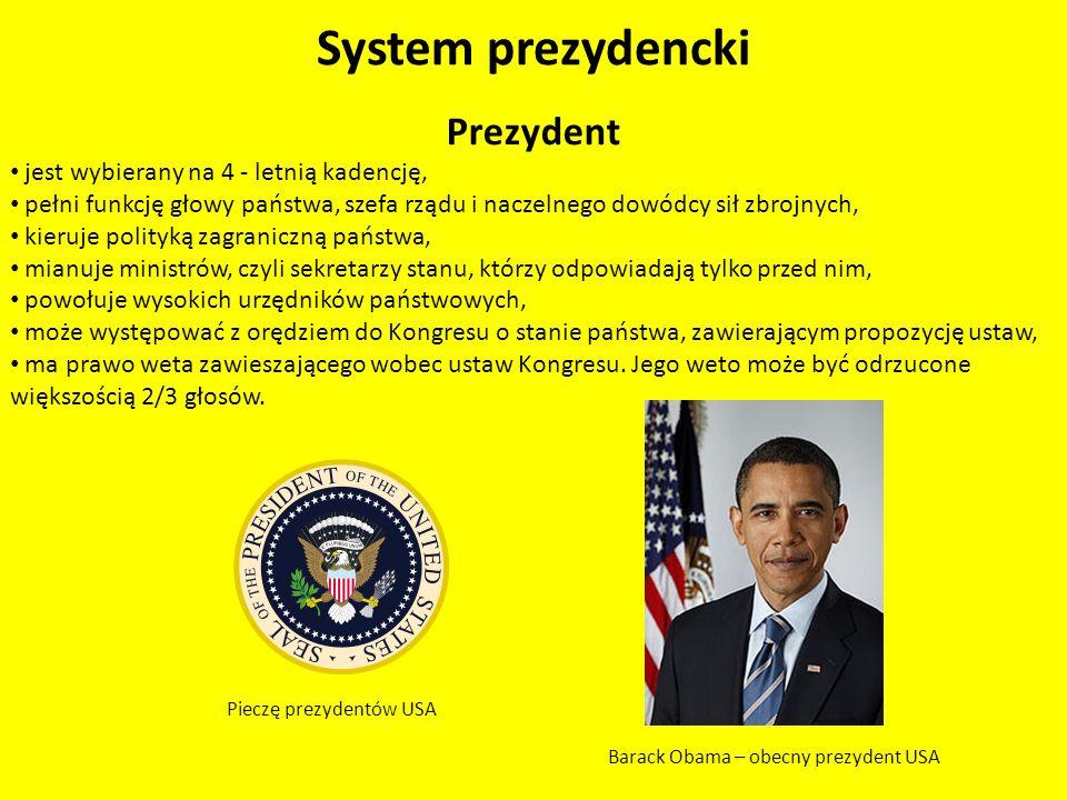 System półprezydencki Forma państwa – Republika prezydencko – parlamentarna.