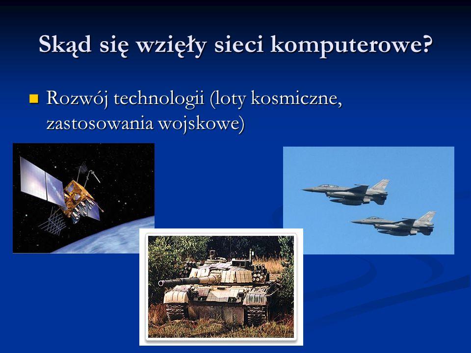 Rozwój technologii (loty kosmiczne, zastosowania wojskowe) Rozwój technologii (loty kosmiczne, zastosowania wojskowe)