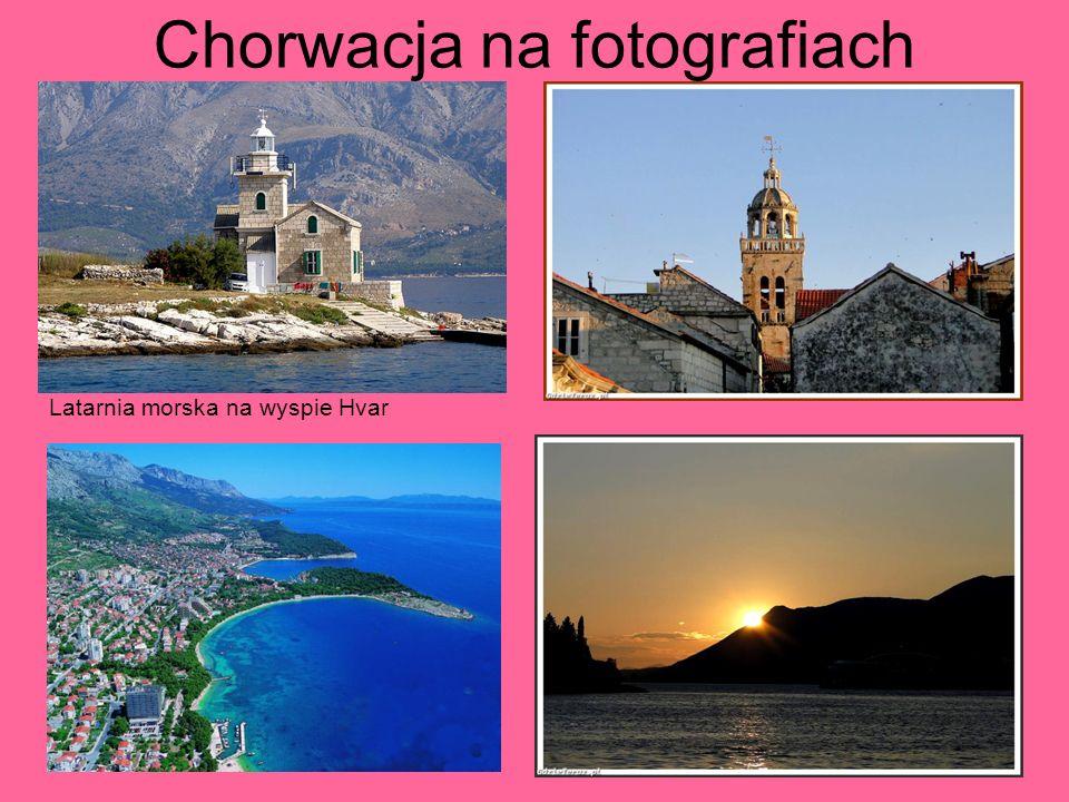 Chorwacja na fotografiach Latarnia morska na wyspie Hvar