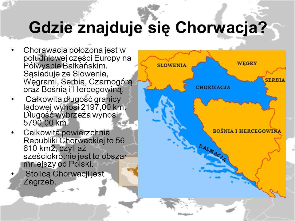 Ukształtowanie terenu Chorwację charakteryzuje bardzo zróżnicowane ukształtowanie terenu.