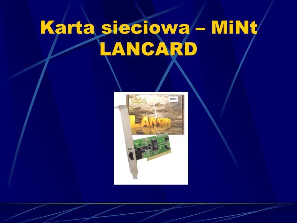Karta sieciowa – MiNt LANCARD