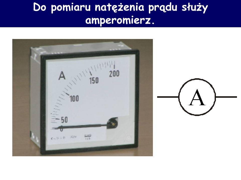 Prąd elektryczny Kulomb – C – ładunek jaki przepływa przez pewną powierzchnię w czasie 1s, gdy prąd płynący przez tę powierzchnię wynosi 1A. Jeden ład