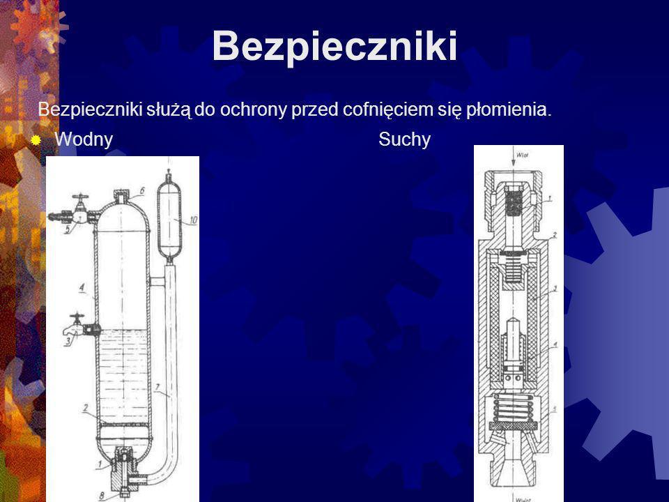Butla do tlenu Butle do tlenu są zbiornikami stalowymi ciągnionymi bez szwu, w których tlen znajduje się w postaci gazu sprężonego pod ciśnieniem 15 MPa.