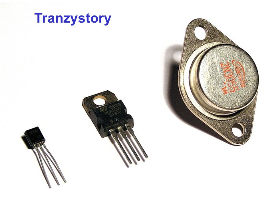 Zastosowania tranzystorów: łącznik