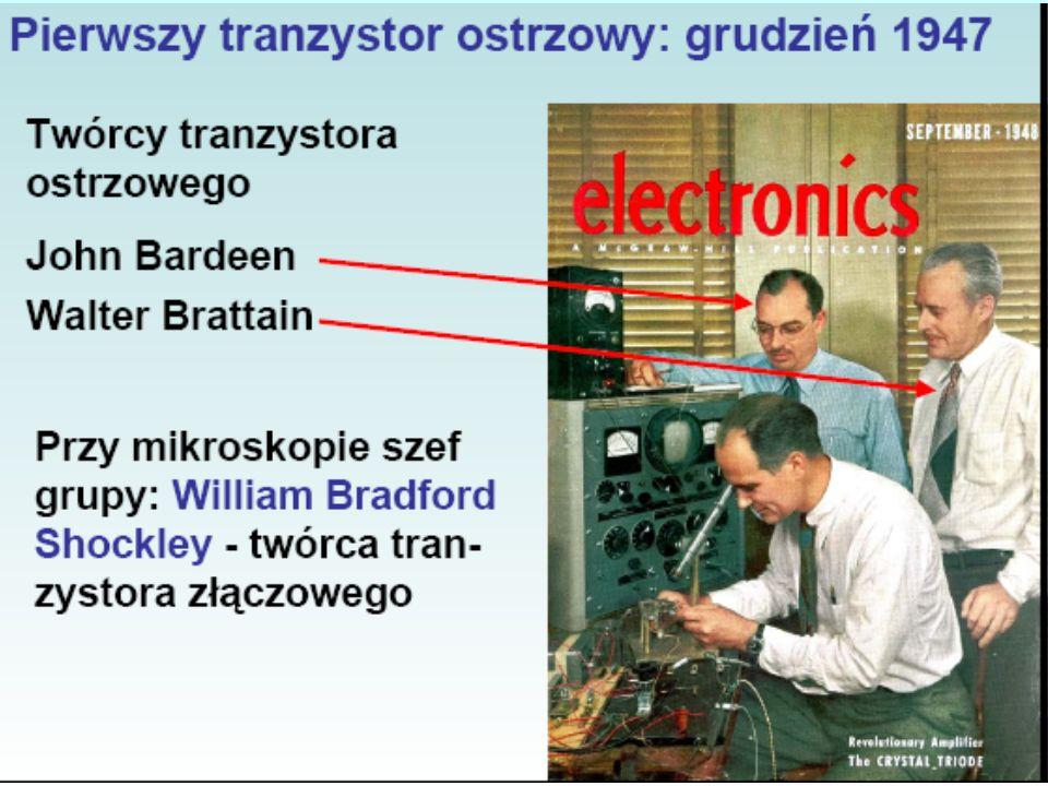 Tranzystory PODSTAWY ELEKTRONIKI – Jakub Dawidziuk 20 października 2006