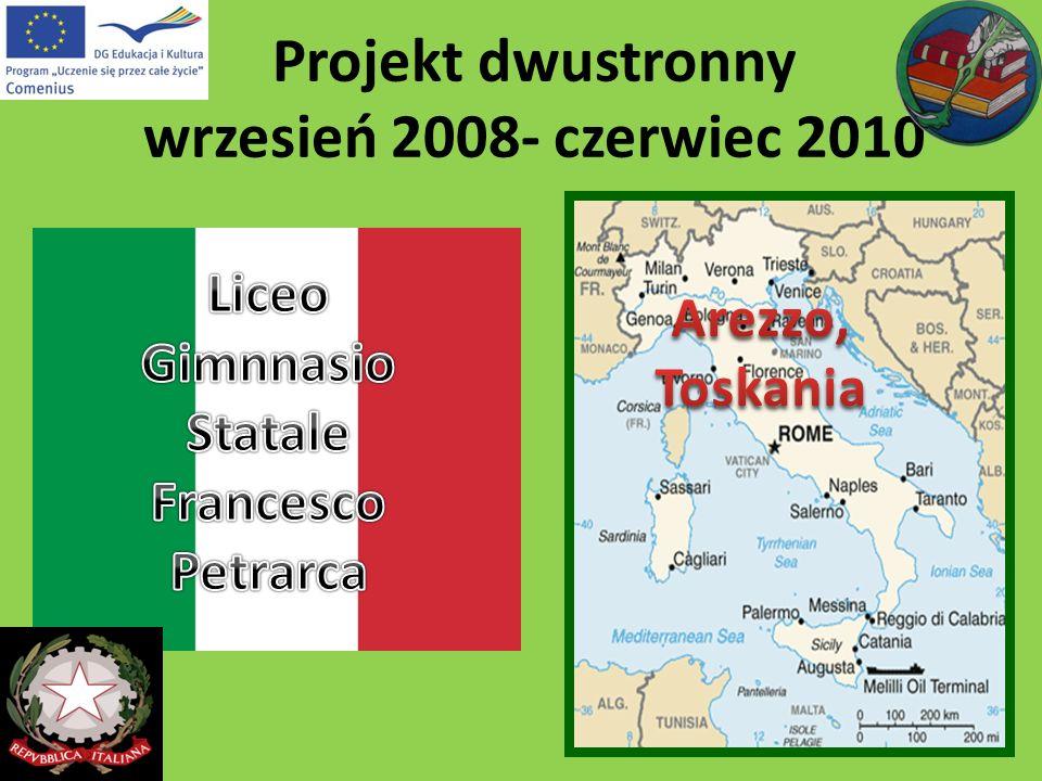 Projekt dwustronny wrzesień 2008- czerwiec 2010