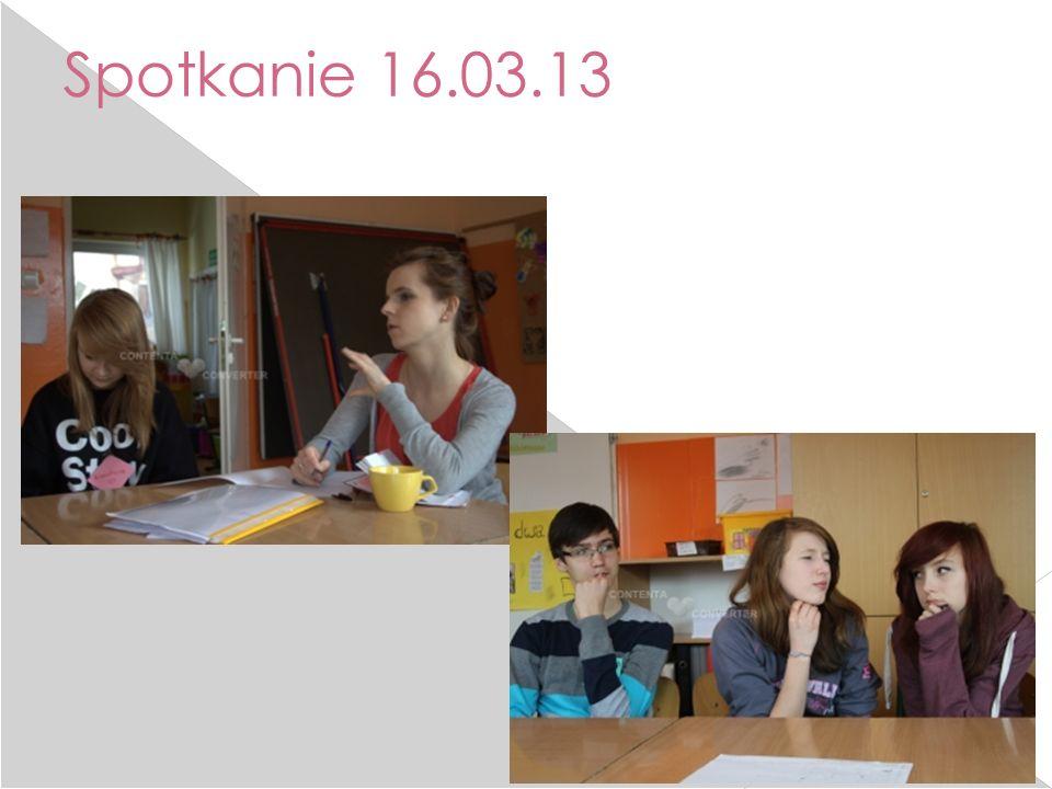 Spotkanie 16.03.13