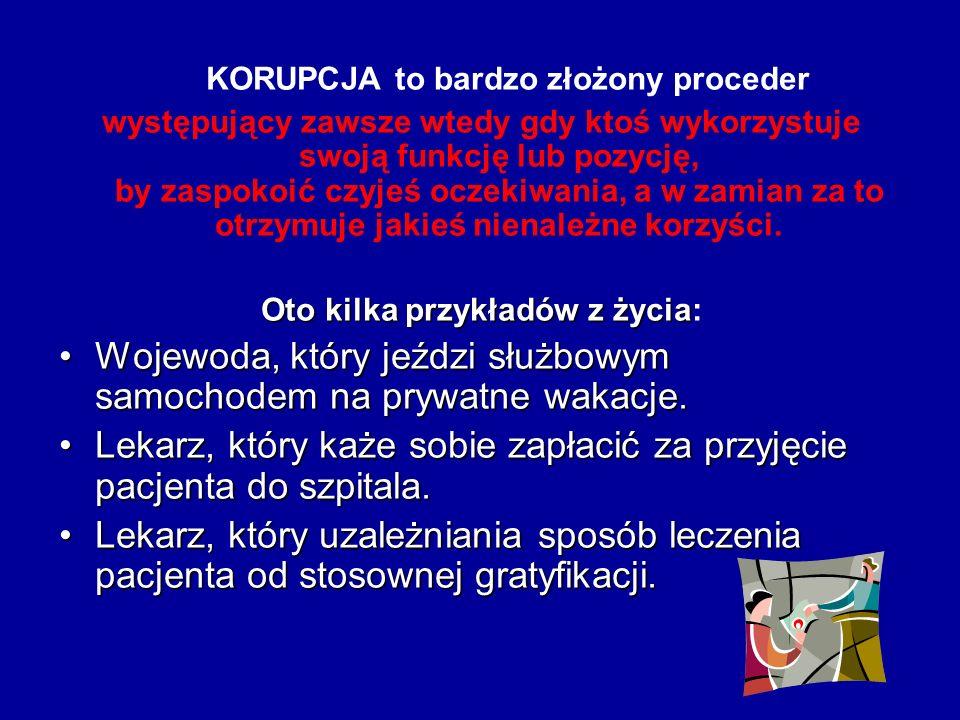 7. Korupcja sportowa 7. Korupcja sportowa Przestępstwem jest sprzedajność, jak i przekupstwo w sporcie. W procederze z jednej strony bierze udział pła