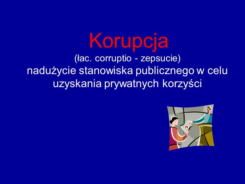 W rozumieniu art. 2 cywilnoprawnej konwencji o korupcji sporządzonej w Strasburgu dnia 4 listopada 1999 r. korupcją jest żądanie, proponowanie, wręcza