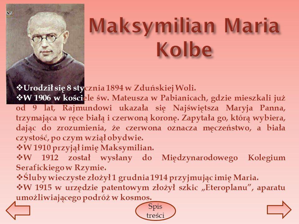 Urodził się 8 stycznia 1894 w Zduńskiej Woli. W 1906 w kościele św. Mateusza w Pabianicach, gdzie mieszkali już od 9 lat, Rajmundowi ukazała się Najśw