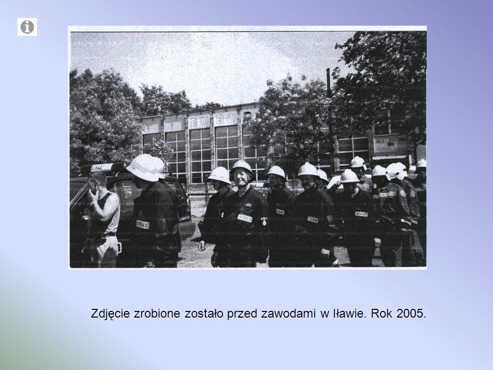 Zdjęcie zrobione zostało przed zawodami w Iławie. Rok 2005.