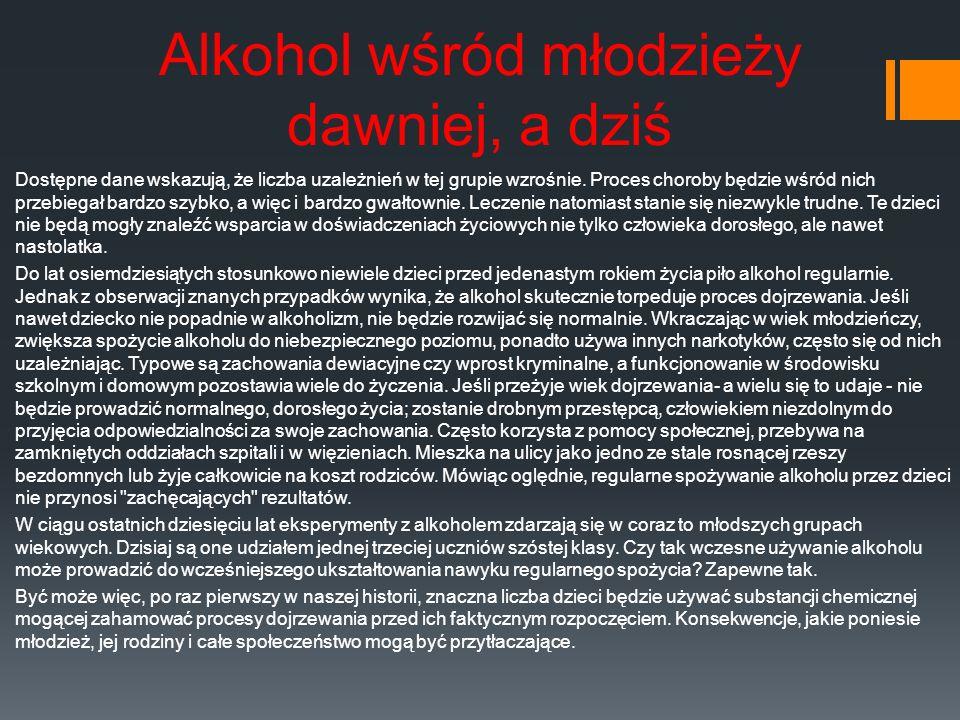 Alkohol w organizmie Alkohol etylowy przenika do płynów i soków tkankowych człowieka.