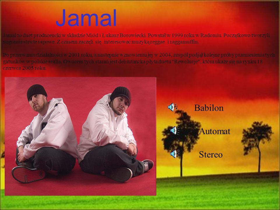 Jamal Jamal to duet producencki w składzie Miód i Łukasz Borowiecki. Powstał w 1999 roku w Radomiu. Początkowo tworzyli nagrania stricte rapowe. Z cza