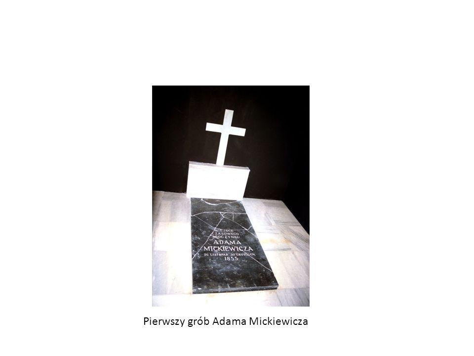 Ostatnie lata życia wielkiego poety 26 listopada Adam Mickiewicz umiera. Zmarł w czasie epidemii cholery panującej wówczas w Konstantynopolu. Jego zwł