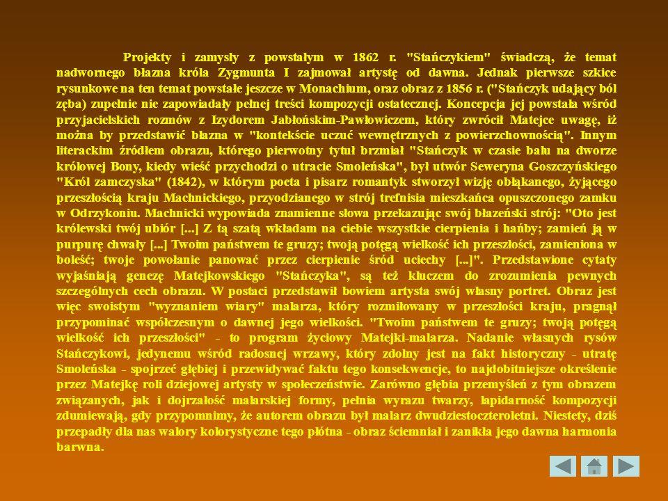 Projekty i zamysły z powstałym w 1862 r.