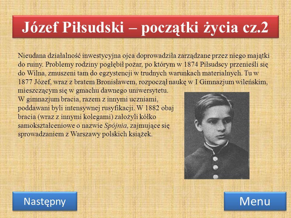 We wrześniu 1884 zmarła ciężko chora od lat Maria Piłsudska.