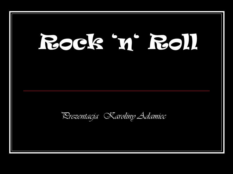 Reszta ś wiata obecnie… We współczesnym świecie możemy posłuchać wielu rockowych zespołów.