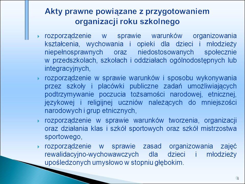 47 Nowe ramowe plany nauczania - gimnazja Ramowy plan nauczania dla gimnazjum dla dorosłych.