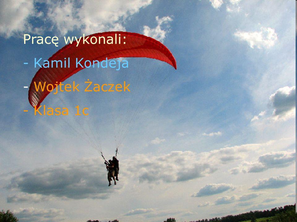 Pracę wykonali: - Kamil Kondeja - Wojtek Żaczek - Klasa 1c