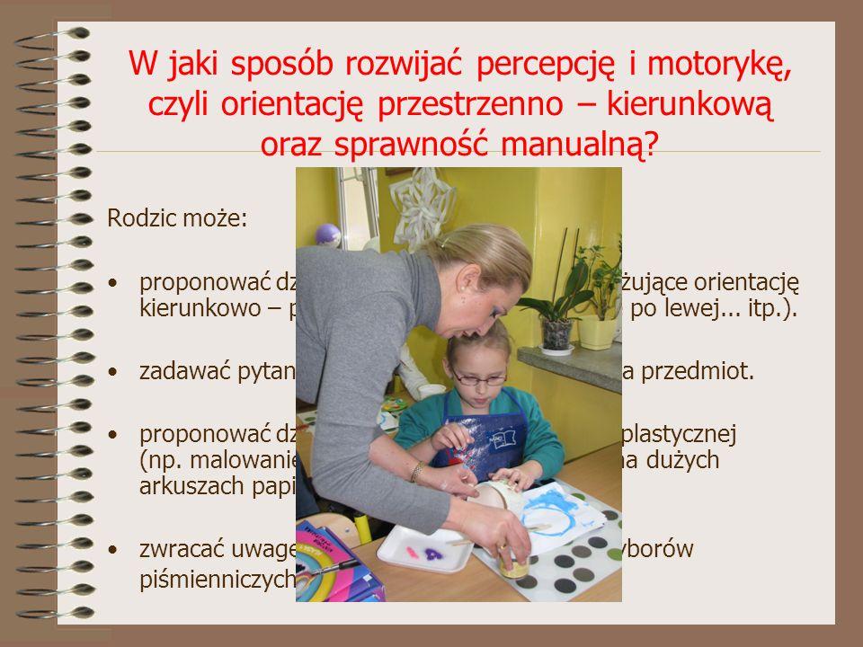 Rozwój umysłowy.Jak rozwijać spostrzegawczość u dziecka.