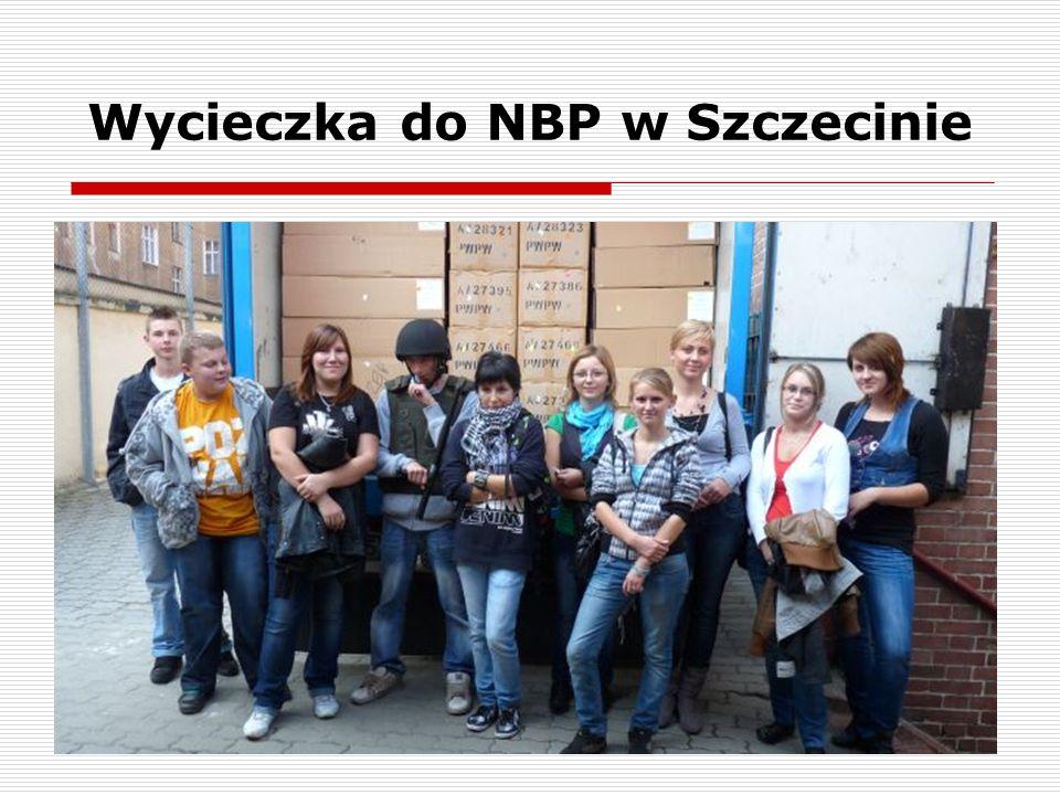 Wycieczka do NBP w Szczecinie